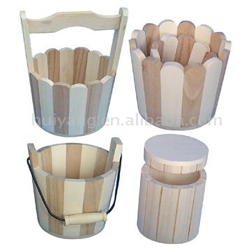 Wooden Buckets (Деревянное ведро)