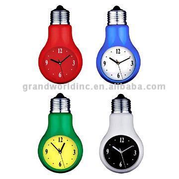 Bulb Clocks (Лампа часы)