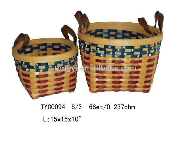 America Round Basket (Америка Круглые корзины)