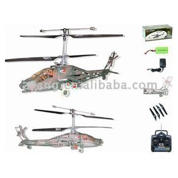 R/C Apache Helicopter (E15188) (R / C Ap he Helicopter (E15188))
