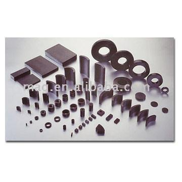 Permanent Sintered Ferrite Magnets