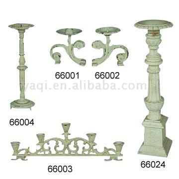 Cast Iron Candle Holders (Cast Iron Candle Holders)