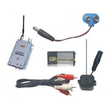 Micro Wireless Security Camera - Color with Audio + A/V Receiver (Micro Wireless Security Camera - цвет с аудио + A / V ресивер)