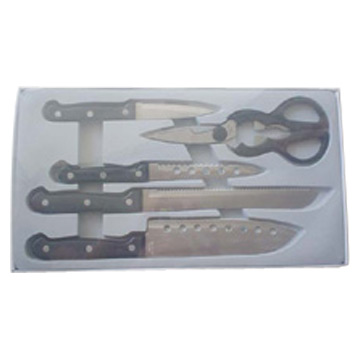 5pcs Knife Set
