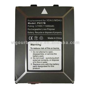 PDA Battery for Compaq, HP, Dell and DOPOD Series