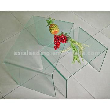 Bent Glass for Furniture (Bent Verre pour mobilier)