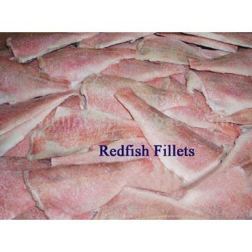 Frozen Redfish Fillets
