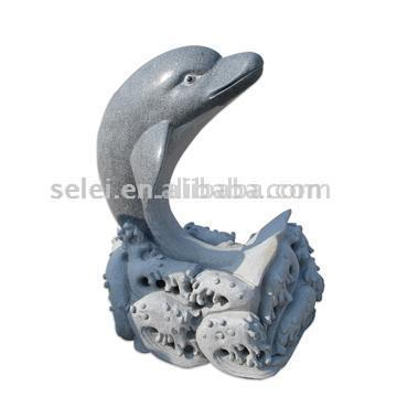 Common Dolphin Sculpture