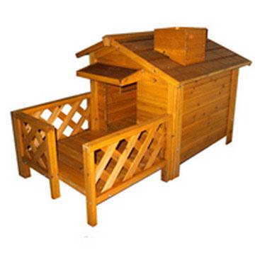 Wooden Pet House (Pet Деревянный дом)