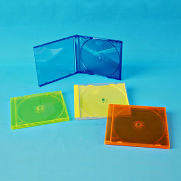 10.4mm Color CD Cases (Single / double / triple) (10.4mm Color CD Cases (simple / double / triple))