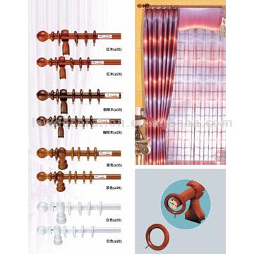 Wooden Curtain Rails (Деревянные шторы)