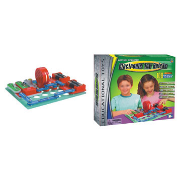 Electronic Toy Bricks (108 Designs) (Электронные игрушки Кирпичи (108 образцов))