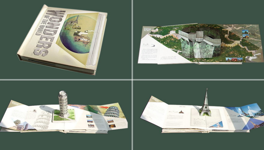 Wonders Building Pop-Up Book (Чудеса Строительство Pop-Up книга)