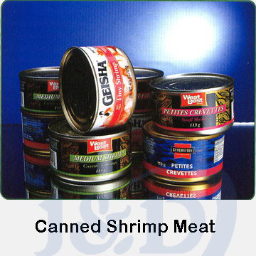 Canned Shrimp Meat