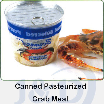 Canned Pasteurized Crab Meat