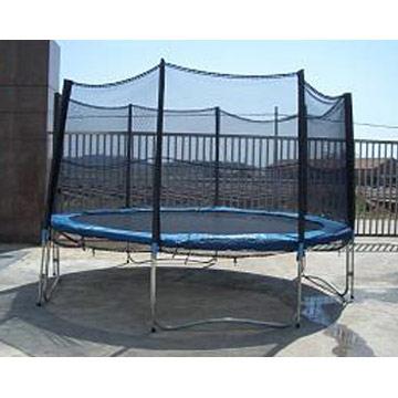 Le trampoline sport de compétition