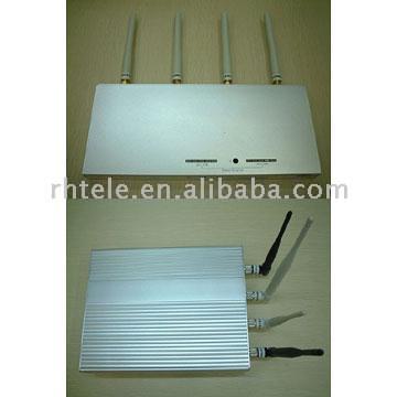 Глушитель от сигналов мобильных.  Product Name: Jammer of Mobile SignalsModel Number: 110B, 110FPlace of Origin...