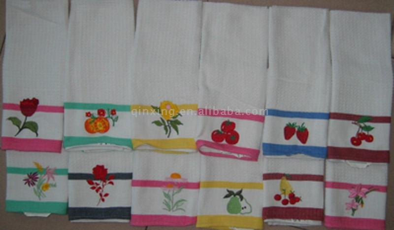 All Cotton Waffle oR Terry Kithcen Towels (Alle Baumwolle Waffel oder Terry kithcen Handtücher)