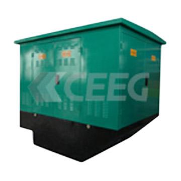 Semi-Embedded Prefabricated Substation (Полу-Embedded Сборные подстанции)