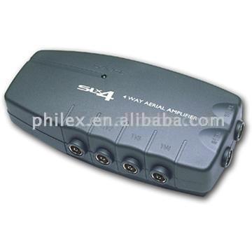 4-Way Aerail Amplifier