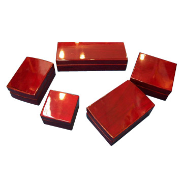 Piano Finsih Jewelry Boxes (Piano Bijoux Finsih Boxes)
