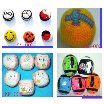 Kick Мячи, вязать Мячи, игрушки мячи, мячи из ПВХ, жонглирование мячами, вязание крючком Мячи.