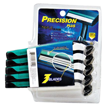 5pc 3 Blades Disposable Razors