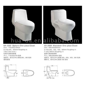 Siphonic One Piece Toilet (Siphonic One Piece Туалет)