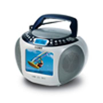 Portable DVD / CD / MP3 Player with TV / AM / FM Tuner (Портативный DVD / CD / MP3-плеер с ТВ / AM / FM-тюнер)