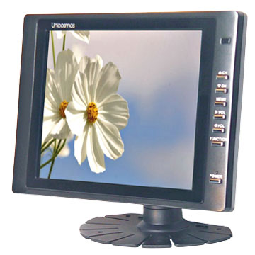 "8"" On-Dash LCD TV"