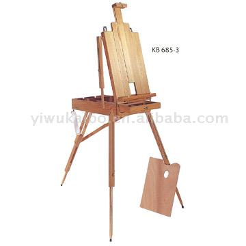 Stretched Box Easel