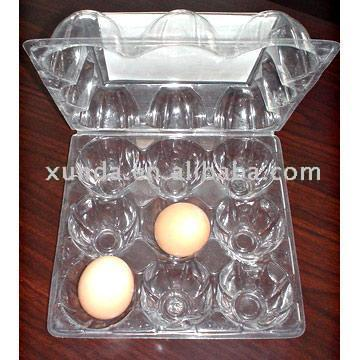PET Egg Tray (PET Bac à œufs)