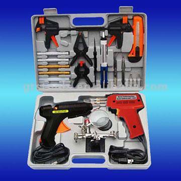Soldering Gun & Glue Gun Kit (Soldering Gun & Glue Gun Kit)
