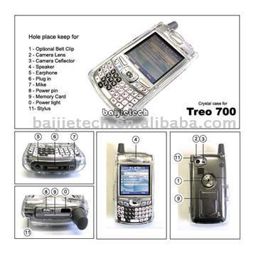 Crystal Case for Treo 700 (Crystal Case for Treo 700)