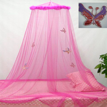 Mesh Canopy With Embroidered Butterflies (Mesh Canopy вышитые бабочки)