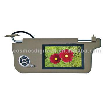 "7"" Sunvisor LCD Monitor"