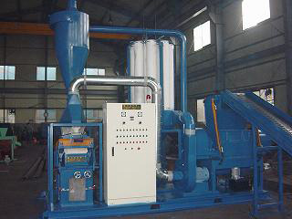 Waste Tire Shredder Recycling Line (Waste Recycling Tire Shredder Line)