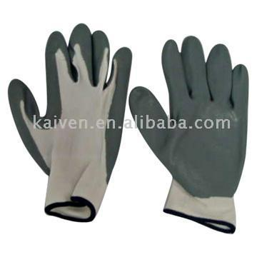 Working Nylon Knitted Gloves
