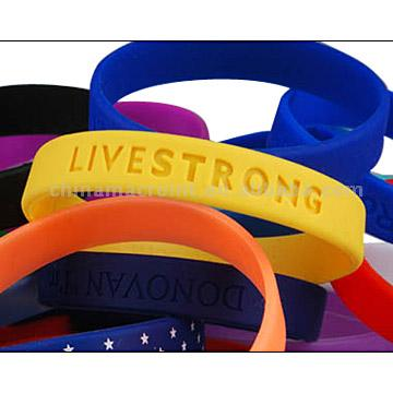 Confetti Silicone Bracelet - Promotional Products, Promotional