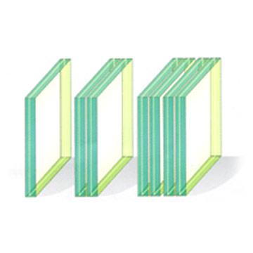 laminated glass (sandwich glass) (многослойное стекло (сэндвич стекло))