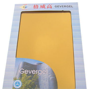 24K Gold Reflective Glass (Solar-Control Coated Glass) (24-каратным золотом светоотражающие стекла (SOLAR-контроль покрытия Стекло))