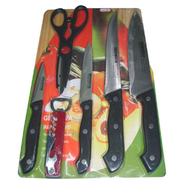 7pc Kitchen Knife Set