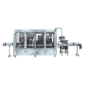 Plastic Bottle I.V.Filling and Sealing Machine (Plastic Bottle i. V. Füll-und Verschließmaschine)
