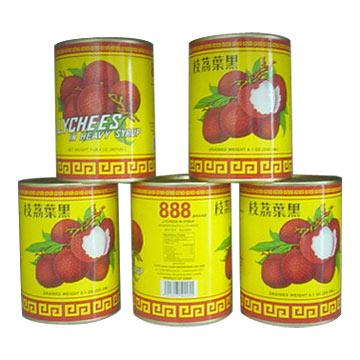 Canned Lychee (Консервы Личи)