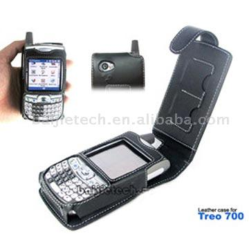 PDA Leather Case for Treo 650 (PDA Leather Case for Treo 650)