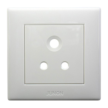 15A Three Pin Circular Socket (15A à trois broches Circulaire Socket)