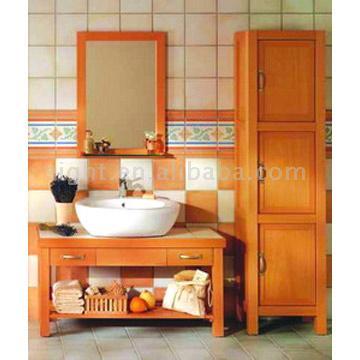 Bamboo Bathroom Cabinet (Бамбук ванная кабинет)