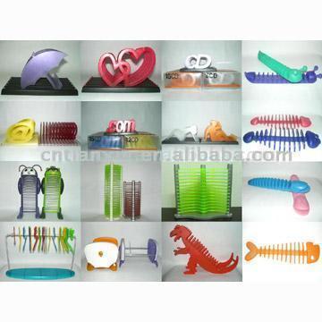 Plastic CD Rack (Пластиковая стойка CD)