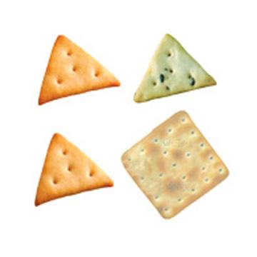 Треугольные печенье в форме