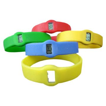 Silicone Wristband Watches (Силиконовый браслет часы)